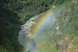 黒四ダムの虹
