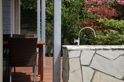 フレキシブル立水栓