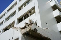 4階まで浸水(志津川病院)