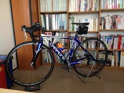 オフィスと自転車