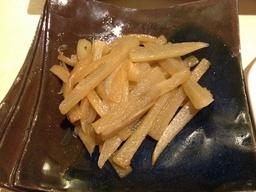 ヤーコンの炒め物