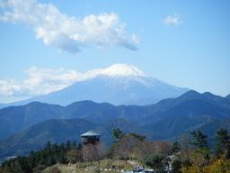 ヤビツ峠からの富士山