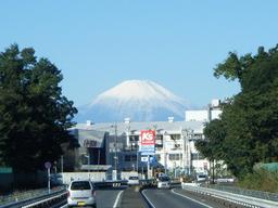 横浜からの富士山