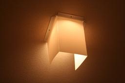 寝室の照明カバー