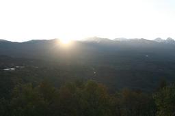 八ヶ岳連峰の日の出