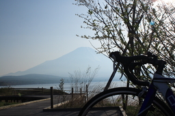 yamanakako&bike