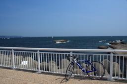 江ノ島で休憩