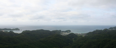 勝浦の海岸
